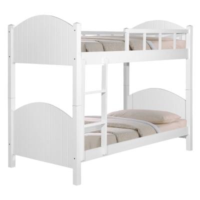 Double Decker wooden bed Bedframe / bunk bed Solid Wood Penang
