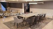 Majestic Dining Table | Palisandro | 10 Seaters | 10 ft Marble Dining Table