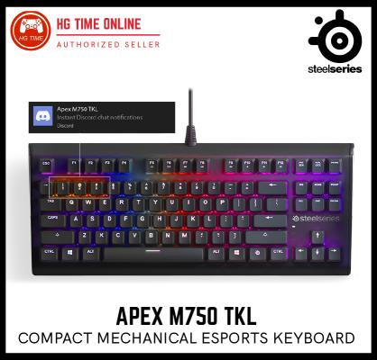Steel Series 64720 APEX M750 TKL | Compact Mechanical Esports Keyboard | Ten Key Less Gaming Keyboar