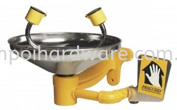 Emergency Eyewash With Stainless Steel Bowl Emergency Equipment Personal Protective Equipments