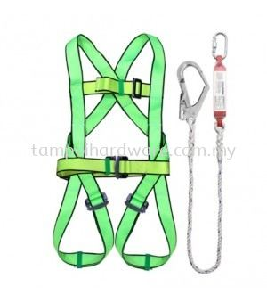 Full Body Safety Harness With Large Hook & Absorber - R91-SH087