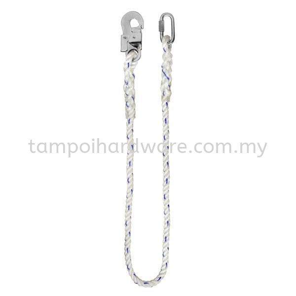 SAFETY LANYARD WITH D Ring & SNAP HOOK Fall Protection Equipment Personal Protective Equipments