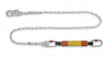 Polyamide Lanyard with Energy Absorber - Small Snap Hook