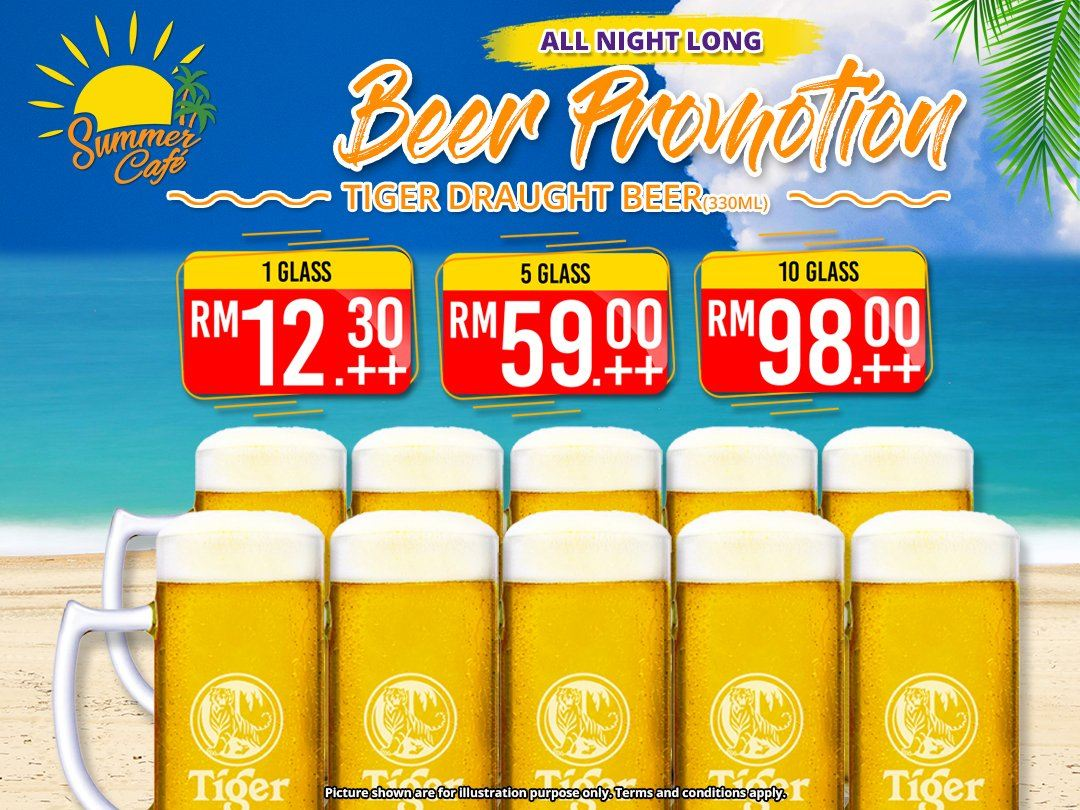 All Night Long Beer Promotion