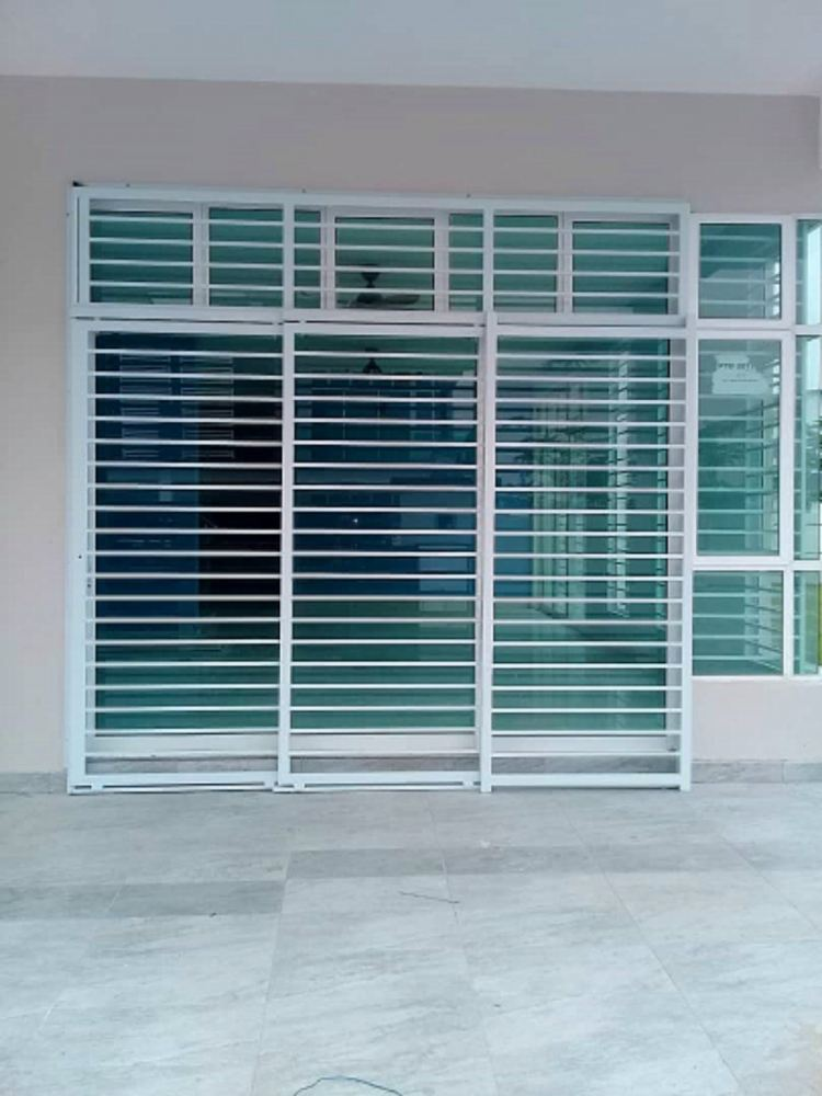Supply and installation grill door
