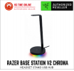 Razer Base Station V2 Chroma | Headset Stand USB Hub | Black Accessories Razer Peripherals
