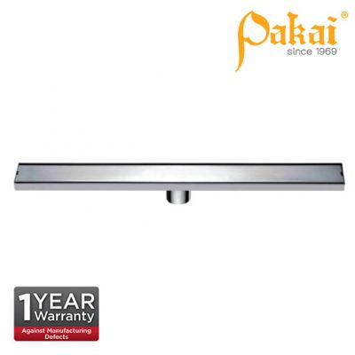 Pakai Shower Channel Tray Type Floor Drainage 700mm x 65mm FT700X65T