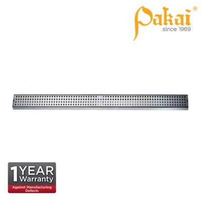 Pakai Shower Channel Slotted Type Floor Drainage 1200mm x 65mm FT1200X65S