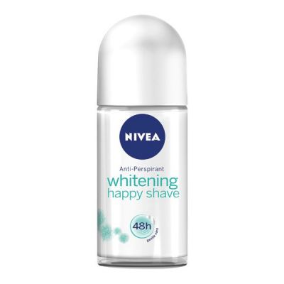 Nivea Women Roll-on Deodorant 50ml Whitening Happy Shave