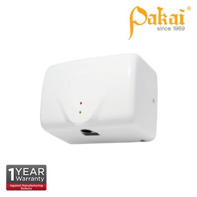 Pakai Automatic High Speed Hand Dryer in White ABS Casing with UV Sterilization Light