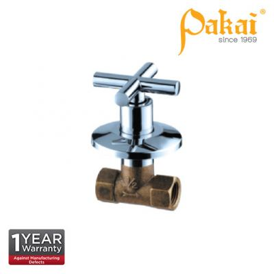 """Pakai 1/2"""" Full Turn Concealed Stop Cock T7-1117-FT"""