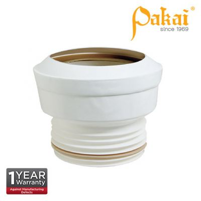 Pakai 4' (100mm) Water Closet (WC) Straight Outlet Connector