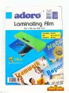 ADORO LAMINATING FILM 100PCS Laminating Film Stationery