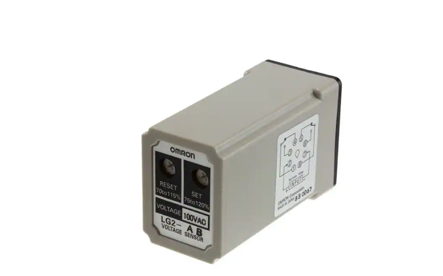 Omron LG2 Compact, Economical Plug-in Type Voltage Sensing Relay