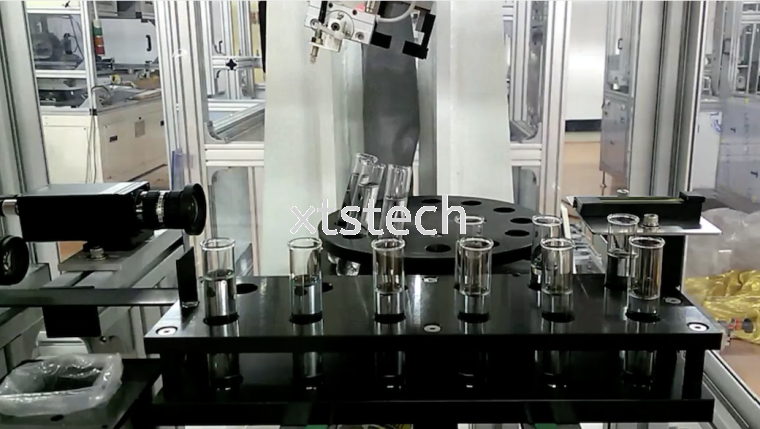 Robot Lab Test Automation To Automated Vaccine Production Line