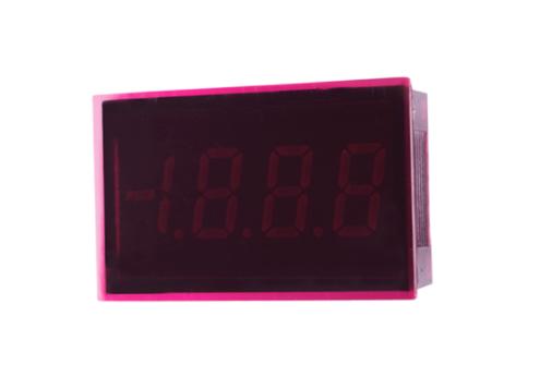 LASCAR SP300 Splash-Proof Ultra Low Profile LED Voltmeter, 8 Pin Version