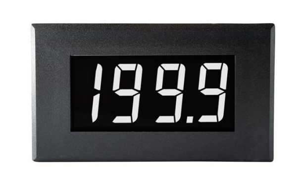 LASCAR DPM 950S-EB-W Large 200mV Single-rail Voltmeter with White Digits