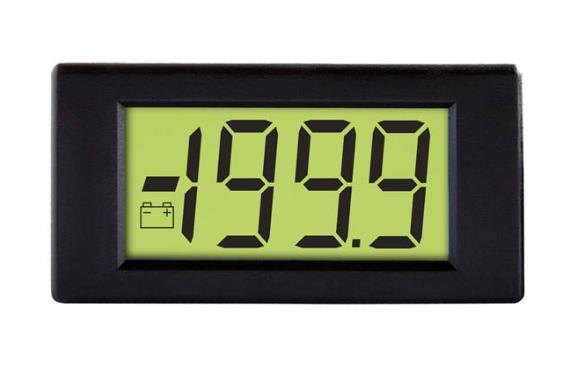 LASCAR DPM 3AS-BL Compact 3 1/2 Digit LCD Voltmeter