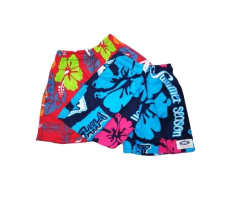 Childrens Kids Pant Unisex Batik Pattern Casual