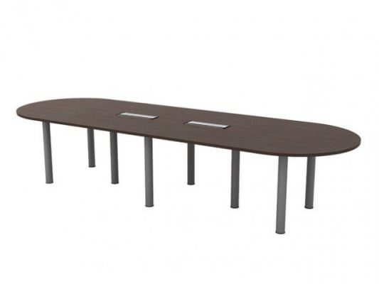 QIC36 Oval Shape Conference Table