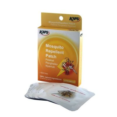 KAPS MOSQUITO REPELLENT PATCH 12'S