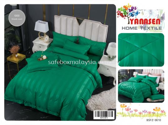 7-In-1 Hotel Style Single Tone High Quality Fitted Bedsheet With Comforter (Single/Queen/King)