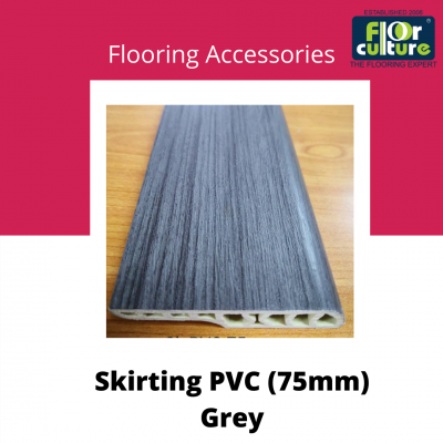 Skirting PVC 75mm Grey