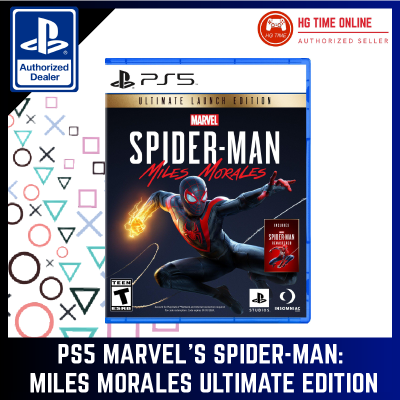 [READY STOCK]  PS5 Marvel's Spider-Man: Miles Morales Ultimate Edition R3