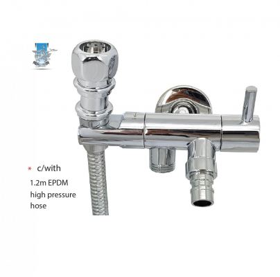 H5113WS  TWO WAY TAP& HOLDER+ BIDET SET - 00924WX
