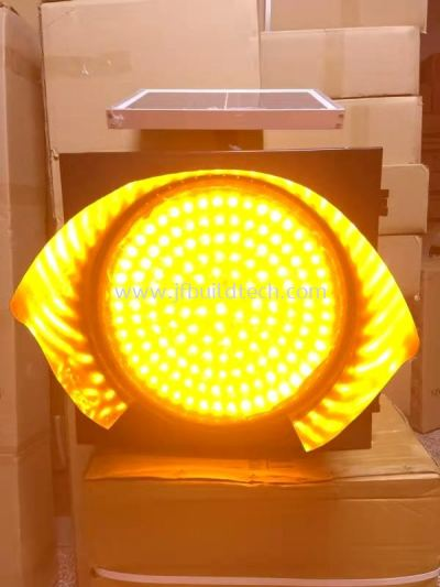 SOLAR ROUND TRAFFIC LIGHT