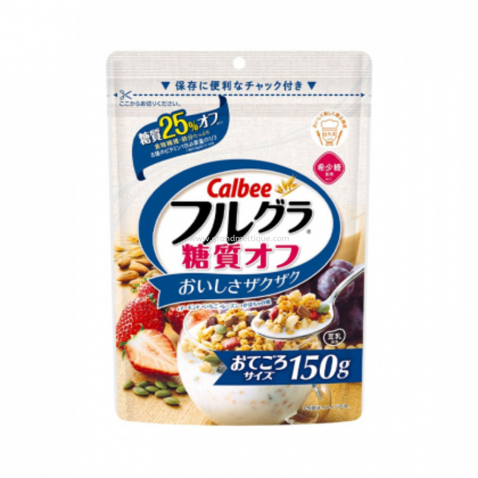 CALBEE FRUIT GRANOLA 25% LESS SUGAR 卡乐比水果谷粮减糖150G