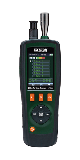 EXTECH VPC300 : Video Particle Counter with built-in Camera