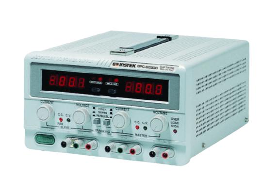 GW INSTEK GPC - Series Triple Output Linear D.C. Power Supply
