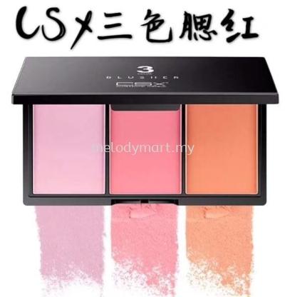 blusher 3 color