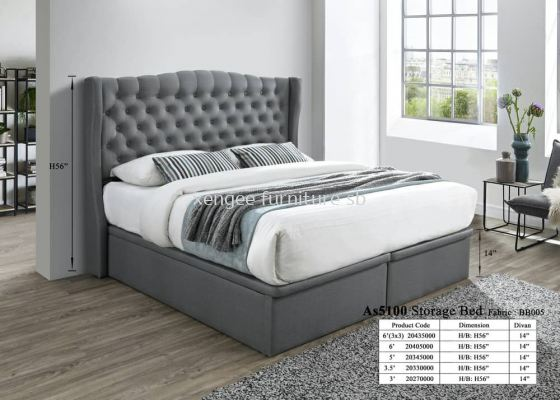 As5100 Storage Bed