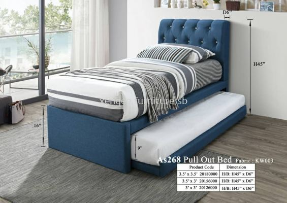 As268 Pull Out Bed