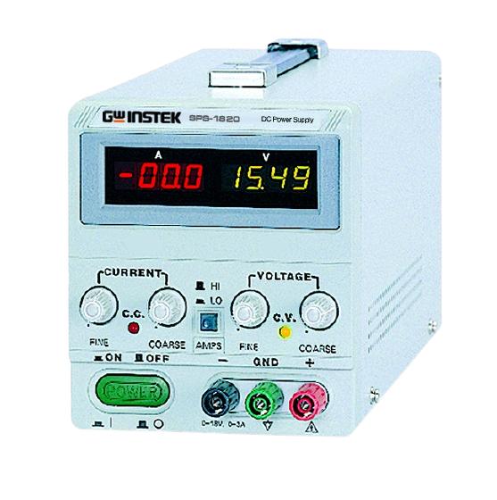 GW INSTEK SPS - Series Switching D.C. Power Supply