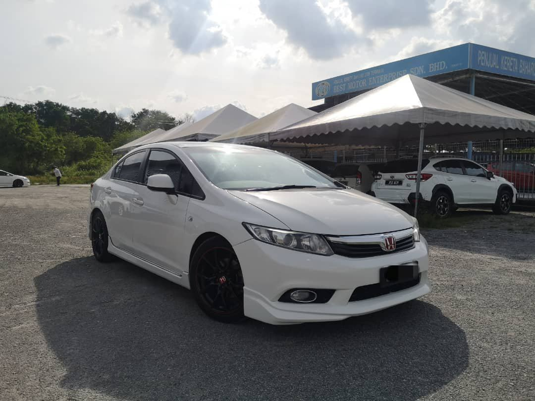 2013🚗 Honda CIVIC 1.8 S (A) FULL LOAN