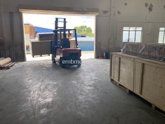 Dye Sublimation Machine Arrive