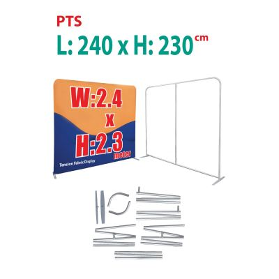 Tension fabric display system W:2.4 x H:2.3 version