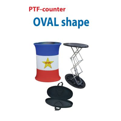 Oval Shape Tension Fabric Counter (TFB-980 A)