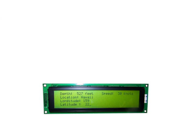 Clover Display CV4161B Module Size L x W (mm) 122.00 x 33.00