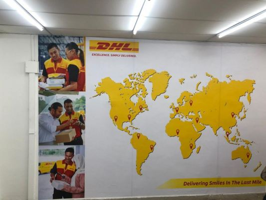 DHL SIGNBOARD PROJECT
