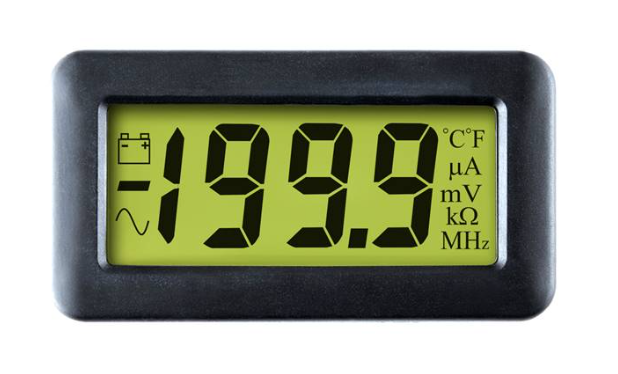 LASCAR DPM 750S-BL 200mV LCD Voltmeter with Backlighting