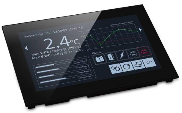 "LASCAR PanelPilot SGD 70-A 7"" with  Analogue, Digital, PWM & Serial Interfaces"