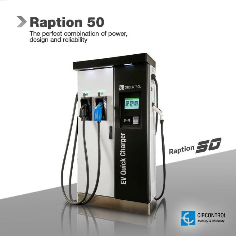 Circontrol - Raption 50 Raption CIRCONTROL EV Charger