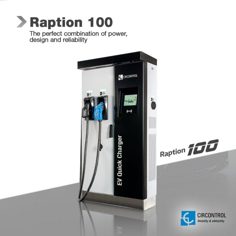 Circontrol - Raption 100 Raption CIRCONTROL EV Charger