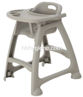 HB BABY CHAIR WITH TRAY (ADJUSTABLE)