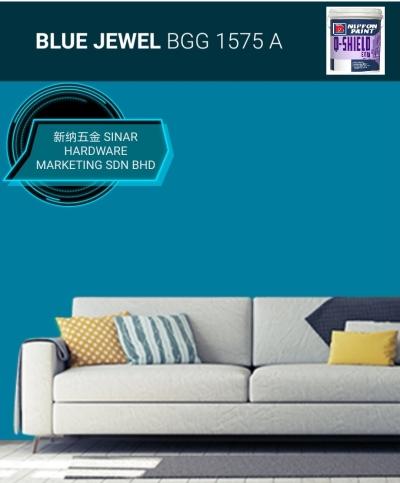 NIPPON EXTERIOR PAINT Q SHIELD - BGG1575A BLUE JEWEL