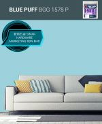 NIPPON EXTERIOR PAINT Q SHIELD - BGG1578P BLUE PUFF